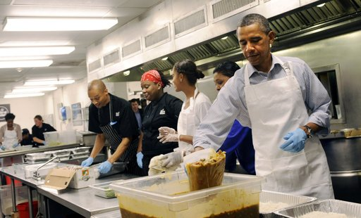 Obama Let S Reclaim Post 9 11 Unity By Working In Soup