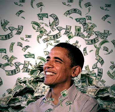 obama loves to spend money