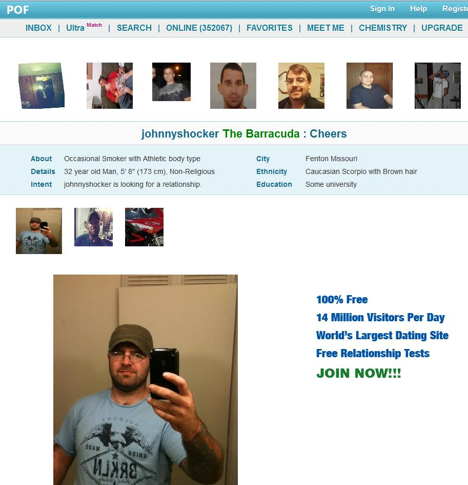 Pof dating site description