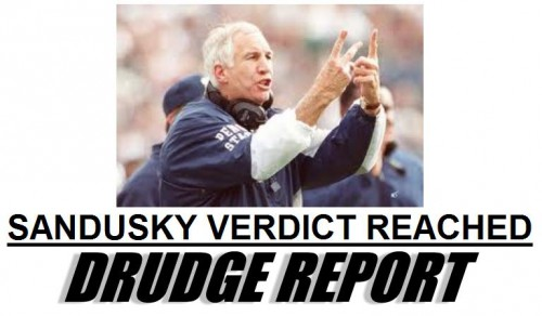 Jerry Sandusky GUILTY in Abuse Case on 45 of 48 Counts …Update ...