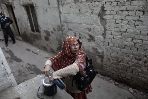 pakistan polio worker