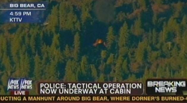 BREAKING: Sheriff Orders SWAT To Get Out of Fiery Cabin After Surprise Basement ...Update: NO BODY FOUND YET