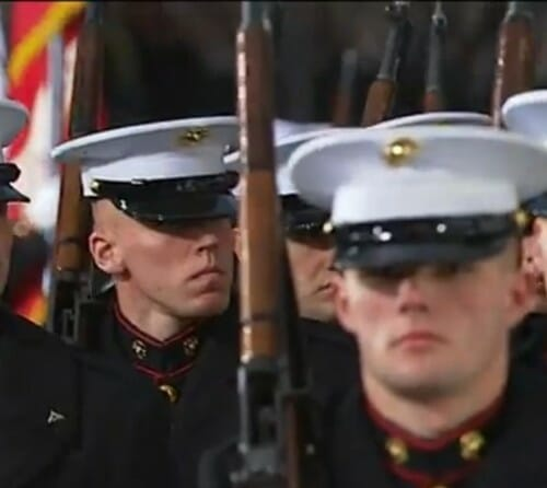 disarmed marines