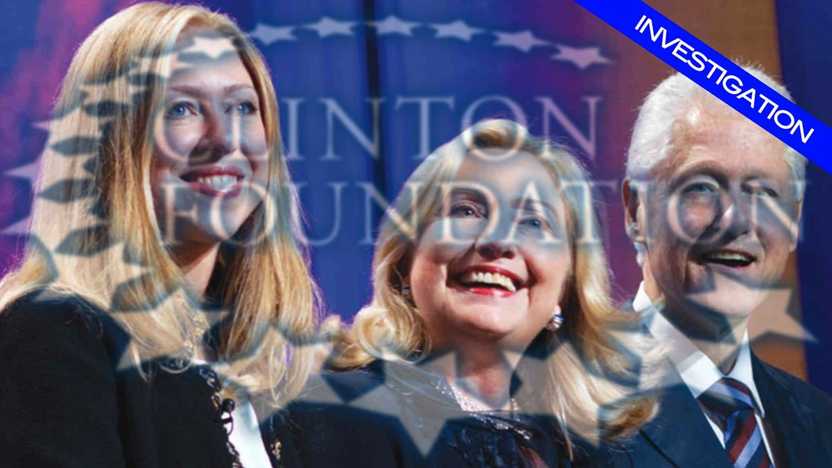 Bill Clinton Triggered After Clinton Foundation Accused of Embezzling Haiti Disaster Cash to Pay For Chelsea's Wedding