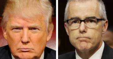 POTUS Trump Goes Scorched Earth on McCabe and Comey in Midnight Tweet After Sessions Fires McCabe