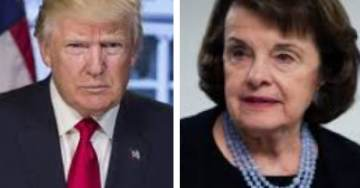 President Trump Goes Scorched Earth on Dianne Feinstein For 'Possibly Illegally' Releasing Fusion GPS Transcript