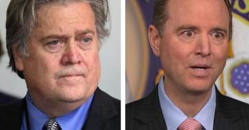 Suspected Leaker Adam Schiff Triggered After Steve Bannon Refuses to Answer Questions From House Intel Committee