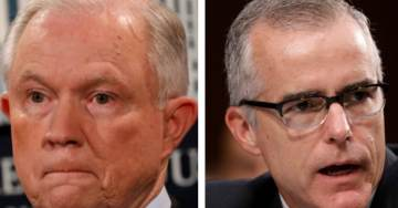 """REPORT: McCabe Authorized Criminal Probe of AG Sessions After Top Dem Senators Urged FBI to Investigate """"All Contacts"""" Sessions May Have Had With Russians"""