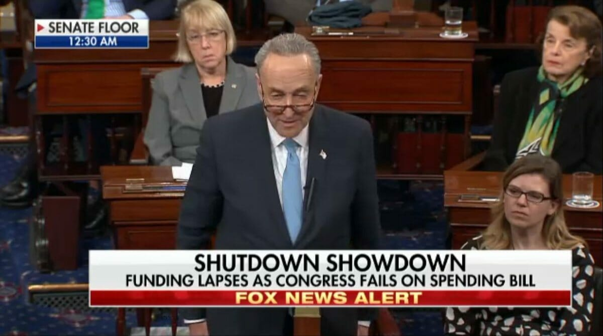 White House Statement on #SchumerShutdown: Democrats Holding US Citizens Hostage to Get Deal for Illegal Aliens