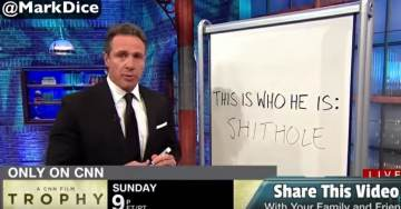 """CNN Goes Off on a Sh*thole Sh*tstorm: Mentions """"Sh*thole"""" at least 36 Times in One Night (Video)"""