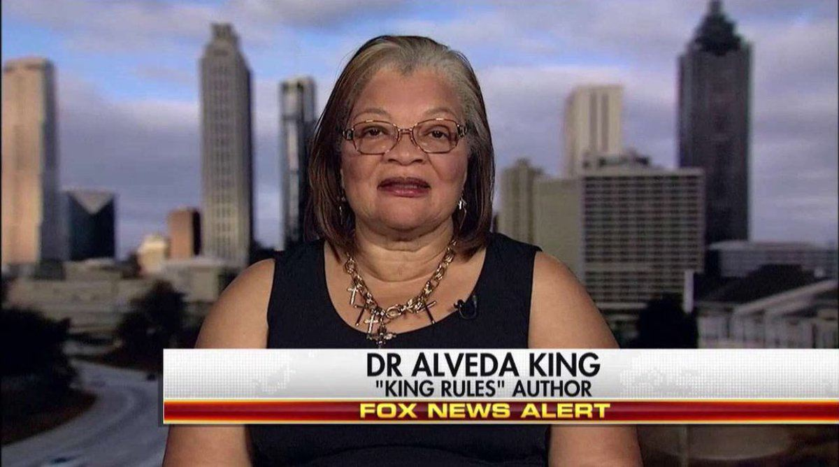 """MLK's Niece: """"Donald Trump Is Not a Racist… There Are Countries in Africa That Are Indeed Hellholes"""" (VIDEO)"""