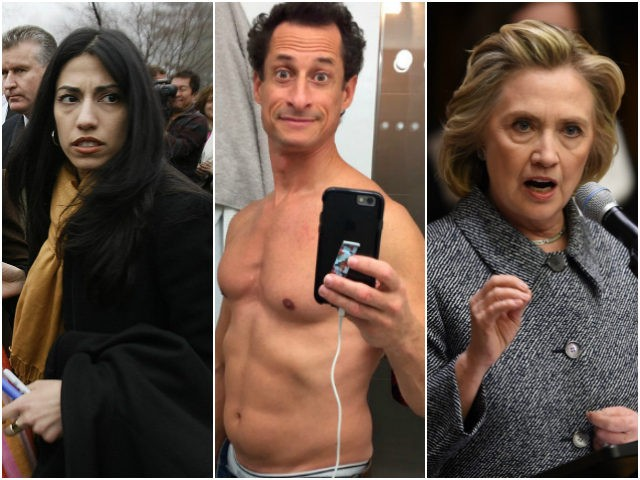 """Huma Wept """"He Is Going to Kill Me"""" After FBI Re-Opened Crooked Hillary's Investigation a Week Before Election"""