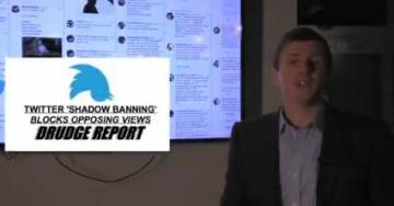 """James O'Keefe Blasts Liberal Media: """"We Broke the Biggest Censorship Story of Our Times. Why Aren't You Covering This?"""" (VIDEO)"""