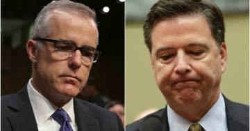 Breaking Report: Like Comey, Fired McCabe Kept Memos of His Interactions With Pres. Trump
