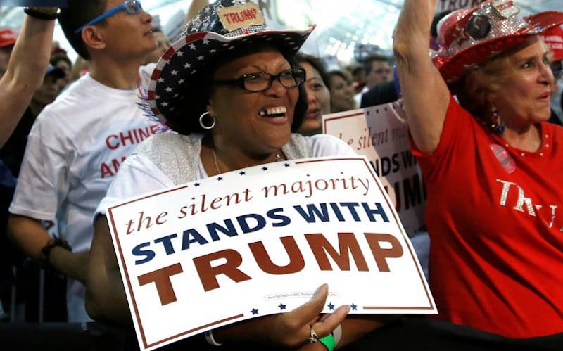 Trump Doubles Support Among Blacks Since 2016 Election