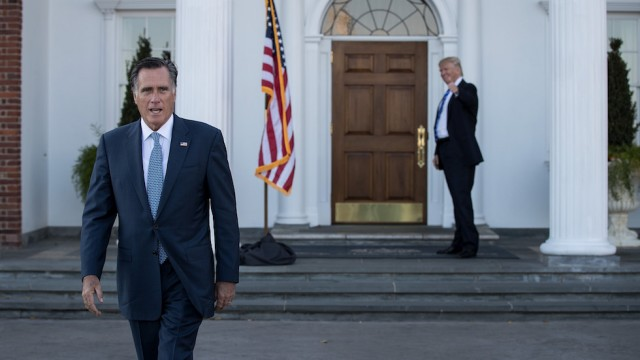 Never-Trumper Mitt Romey Places 2nd at Utah Republican Convention to GOP Outsider -- Forcing June Primary