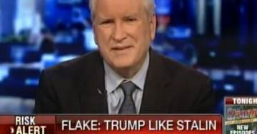 Historian SLAMS Jeff Flake on His Trump-Stalin Comparison: If Anybody Thinks Trump Controls the Media, They're Crazy (VIDEO)